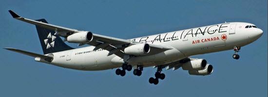 C-FDRO Air Canada Airbus A340-312