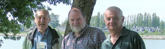Terry Baker, Alan Rust, Wayne Albertson