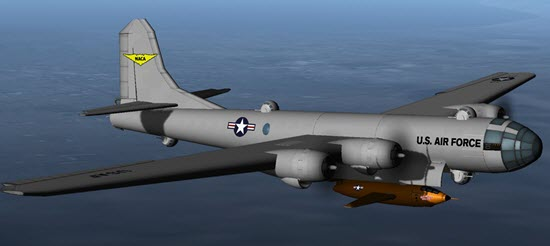 B29 and Bell x1