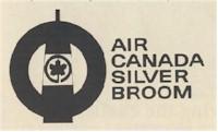 tmb air canada silver broom emblem