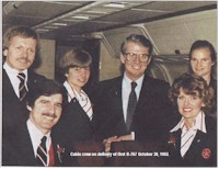 tmb first 767 cabin crew