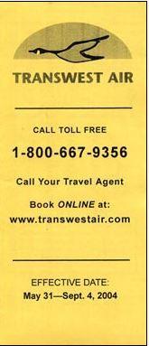 2004 transwest air 1388