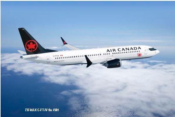 new arrivals be5fd b05f2 tmb air canada 737 max