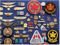 tmb Airline pins