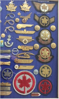 tmb tca pilot hat badges