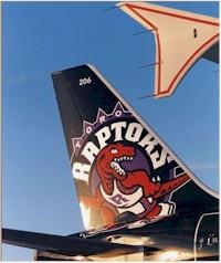tmb toronto raptors aircraft