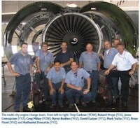 tmb yhz engine cgange crew