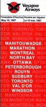 1987 voyageur timetable 1391