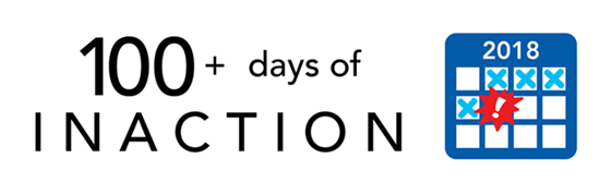 100 Days of Inaction