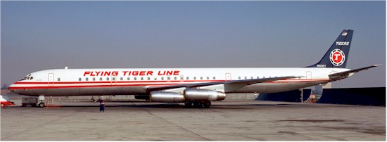 tmb flying tiger dc8