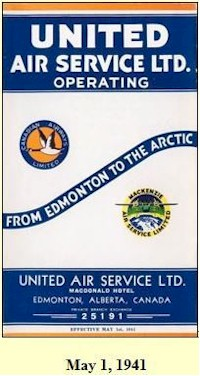 united air service 1941 BL
