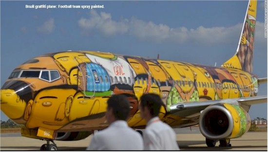 tmb brazilian graffiti aircraft