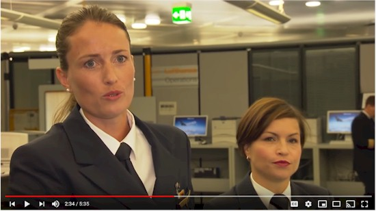 you tube female pilots