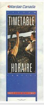 wardair timetable 1419